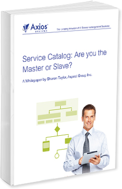 ITSM Whitepaper: ITIL® v3 Chief Architect explains Service Catalog Implementation