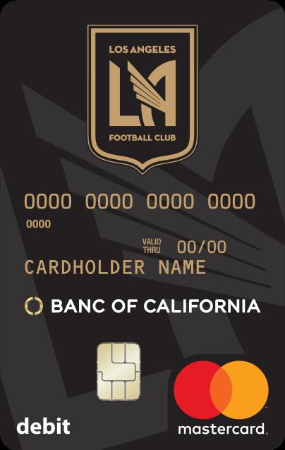 LAFC Debit Card