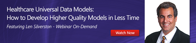 Healthcare Universal Data Models: How to Develop Higher Quality Models in Less Time