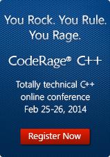 CodeRage 8 C++