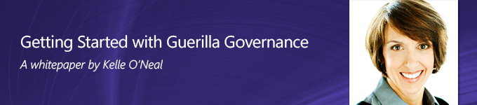 Getting Started with Guerilla Data Governance