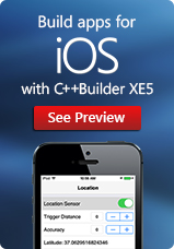 Build apps for iOS with C++Buikder XE5