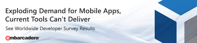 Exploding Demand for Mobile Apps, Current Tools Can't Deliver