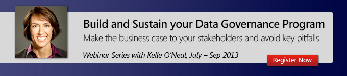 Build and sustain your data governance program
