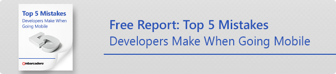 Free Report: Top 5 Mistakes Developers Make When Going Mobile