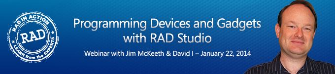 Programming Devices and Gadgets with RAD Studio