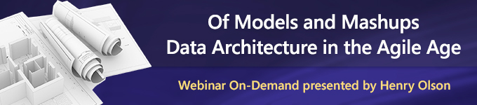 Of Models and Mashups: Data Architecture in the Agile Age