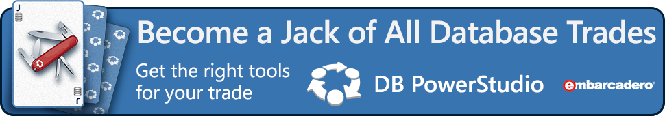 DB PowerStudio - Are You a Jack of all Database Trades?