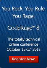 CodeRage 8 - Register Now