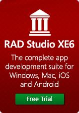 RAD Studio XE6 Free Trial