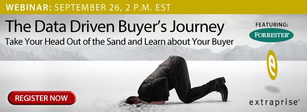 The Data Driven Buyer's Journey: Webinar Registration