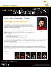 Letter from Carol Jago