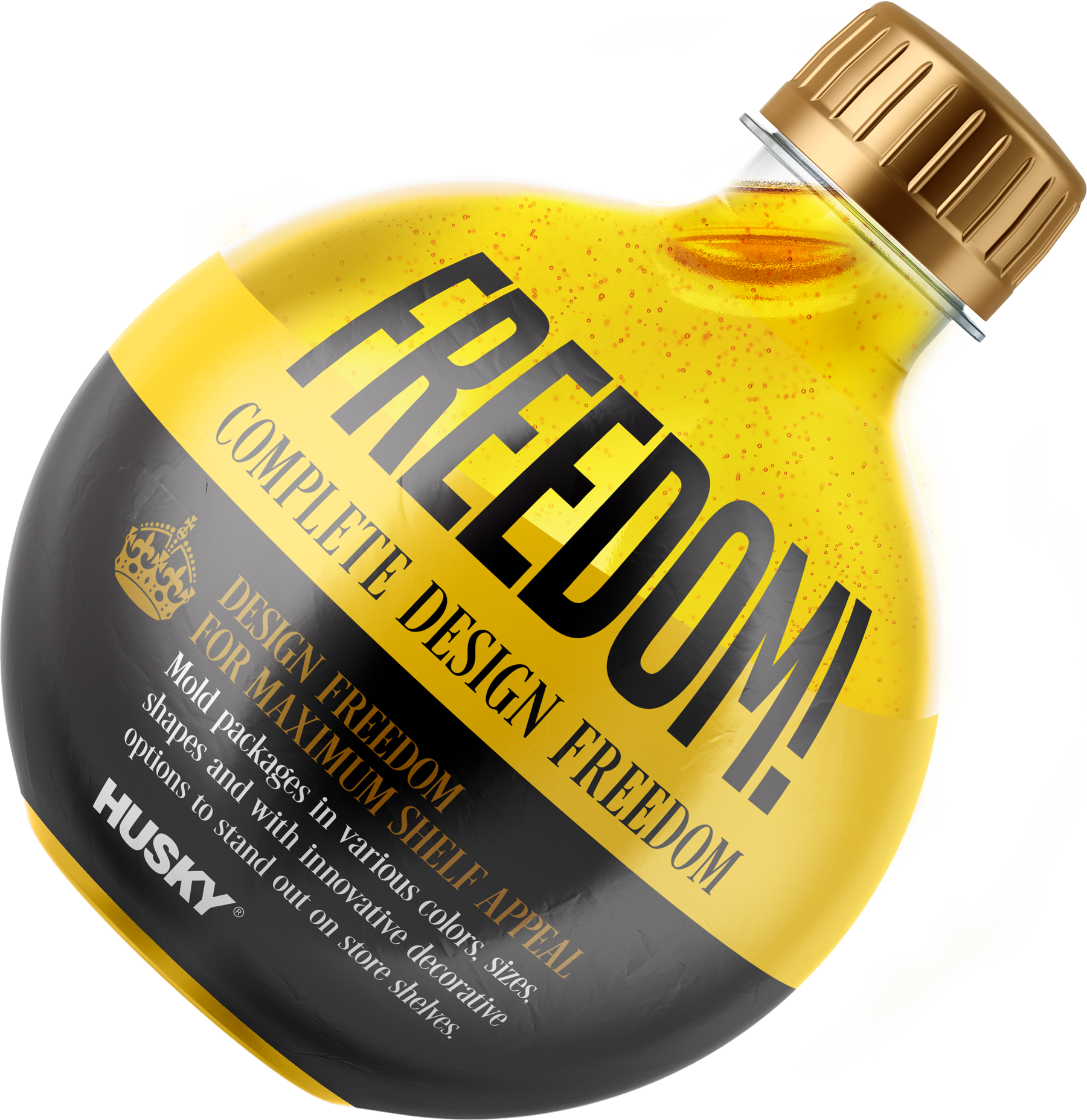 PET freedom bottle