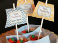 Thanksgiving Snack Boats