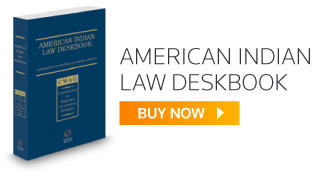American Indian Law Deskbook