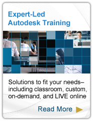 Expert-Led Autodesk Training. Read more.