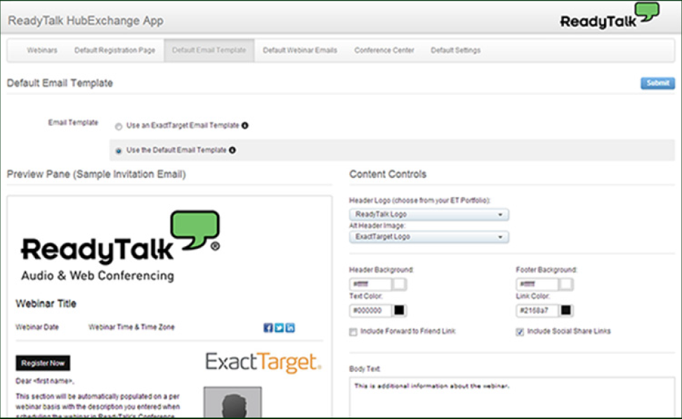 ReadyTalk Screenshot