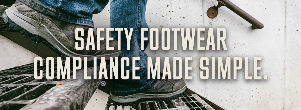 REDUCE INJURY RISK WITH THE RIGHT WORK FOOTWEAR.