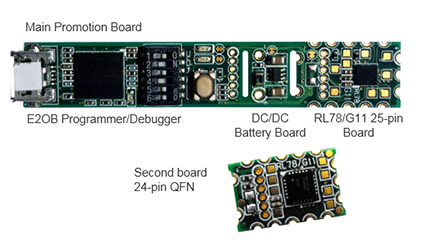 RL78/G11 Promotion Board