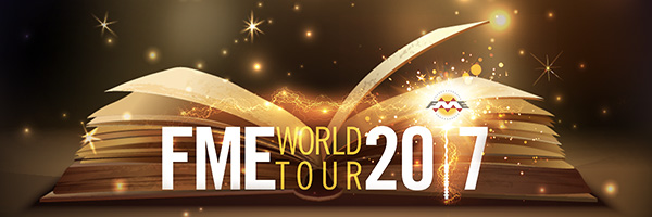 Register for the FME World Tour