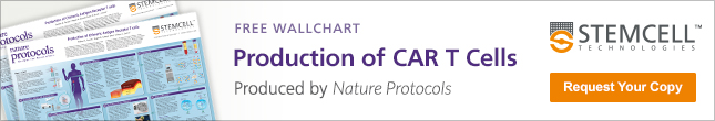Wallchart on the manufacturing of chimeric antigen receptor T cells for cancer immunotherapy