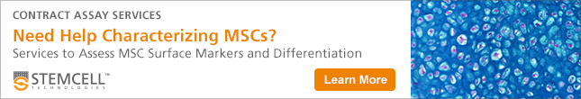 Learn more about Contract Assay Services at STEMCELL Technologies, offering mesenchymal cell characterization services.
