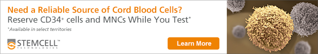Reserve CD34+ Cells and MNCs from Cord Blood While You Test