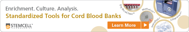 Learn more about our standardized tools for cord blood banking.
