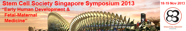 Stem Cell Society Singapore 2013 Symposium