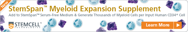 Get More of the Cells You Need with StemSpan™ Myeloid Expansion Supplement and StemSpan™ SFEM