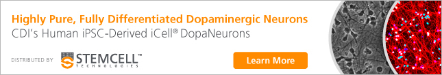Highly Pure, Fully Differentiated Dopaminergic Neurons - CDI's Human iPSC-Derived iCell® DopaNeurons