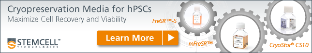 Cryopreservation Media for hPSCs - Learn More!