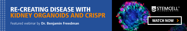 "Watch the Webinar On-Demand: ""Re-Creating Disease with Kidney Organoids and CRISPR-Cas9"""