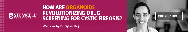 Dr. Sylvia Boj discusses how organoids are revolutionizing drug screening for cystic fibrosis in this webinar