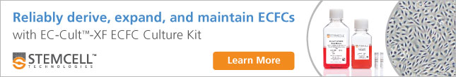 Derive, expand and maintain endothelial colony-forming cells with EC-Cult™-XF ECFC Culture Kit.