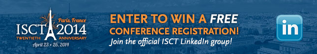 Alt: Enter to Win: Free ISCT 2014 Conference Registration in Paris, France!