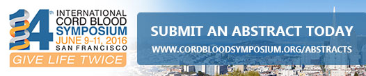Register for Cord Blood Symposium 2016