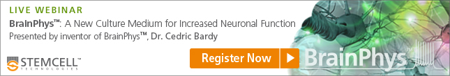 Register for webinar with Dr. Cedric Bardy, inventor of BrainPhys™