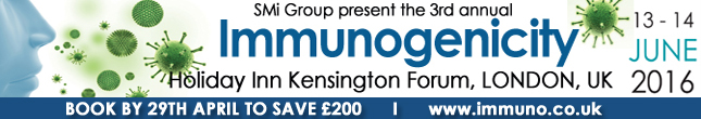 Register for Immunogenicity 2016