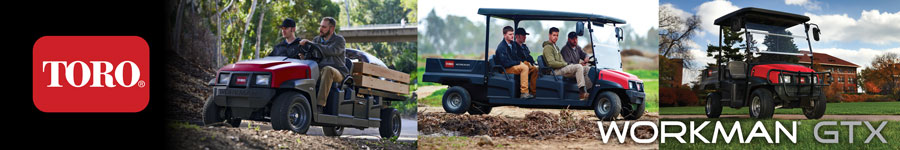 Workman® GTX Utility Vehicles