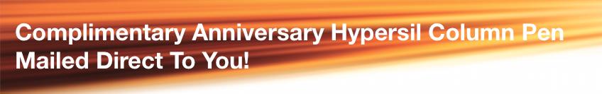 Hypersil 40th Anniversary