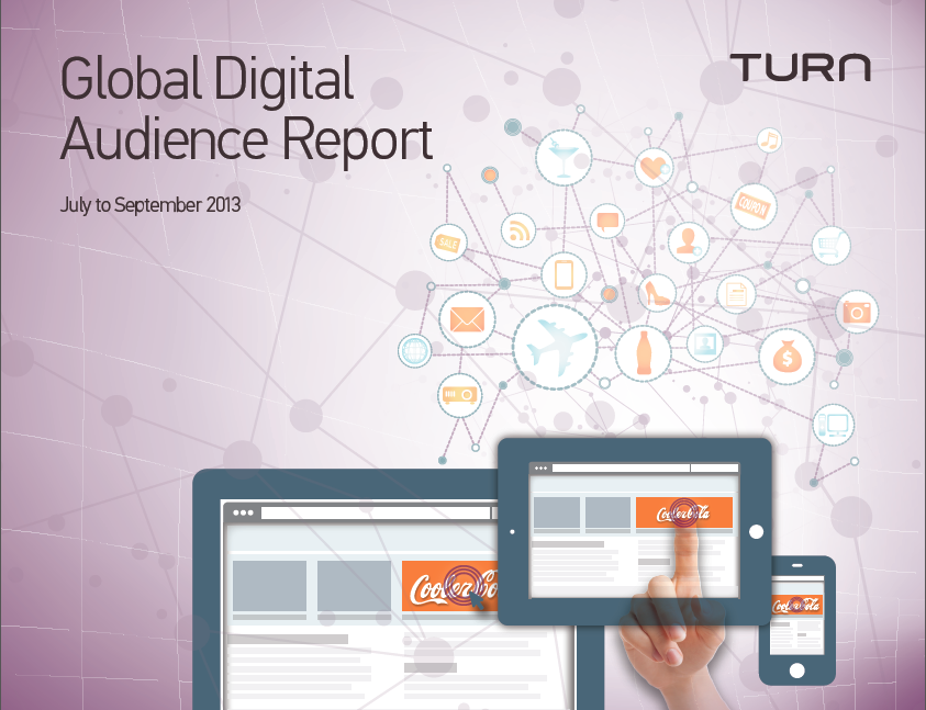 Global Digital Audience Report. July to September 2013