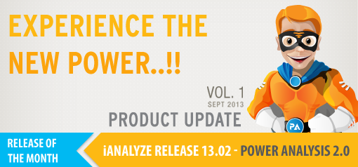 Product Update Vol. 1 - iAnalyze R13.02