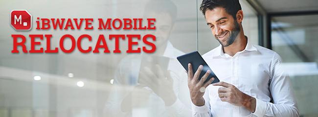 iBwave Mobile Relocates