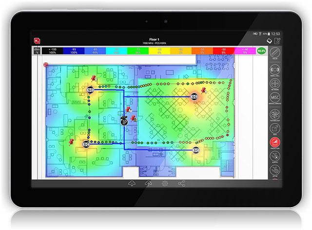 iBwave Mobile Planner screenshot