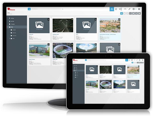 iBwave Unity desktop and tablet image