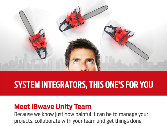 SYSTEM INTEGRATORS, this one's for you! Meet iBwave Unity Team.