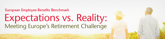 European Employee Benefits Benchmark - Expectations vs Reality: Meeting Europe's Retirement Challenge