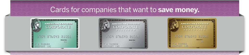 Cards for companies that want to save money.