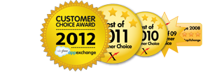 Best of 2102 AppExchange Award